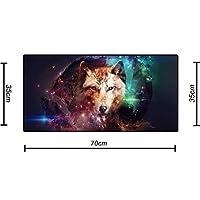 Mouse Pad Gamer Grande (Teclado e mouse) Estrela de Lobo