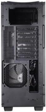 Black 120mm Fan x3 3.5-Inch x 3 and 2.5-Inch x1 Drive Bays Tower Computer Case FT03B USB 3.0 x 2 Silverstone Aluminum Micro ATX