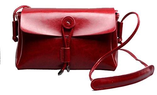 HESHE Mini Size Small Shoulder Bags Crossbody Clutch Sling Handbags for - Genuine Boston Belt