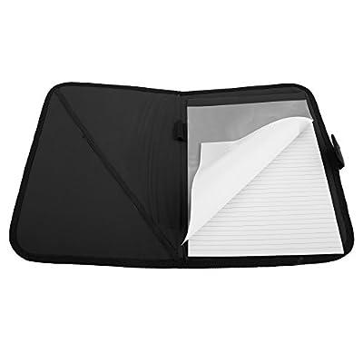 SOLS Campas Conference Folder Bag (ONE) (Black) - more-bags