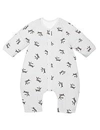 JiAmy Baby Sleep Bag with Feet Sleeping Sack Wearable Blanket Toddler Pajamas 1 Tog
