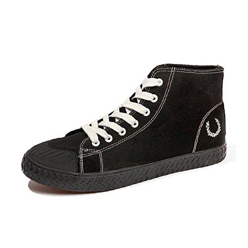 HUAN Espadrilles Mens Canvas Shoes Casual Shoes Shoes Shoes Flat Loafers Deck Shoes Comfort Work Sneakers (Color : Black,... B078LVWJMB Shoes cb59d9
