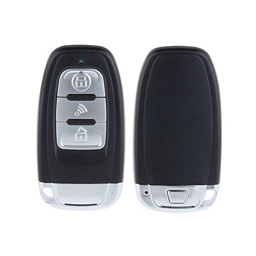 EASYGUARD EC003 Smart Key PKE Passive Keyless Entry Car Alarm System Push button Start Remote Engine Start Stop Universal Version