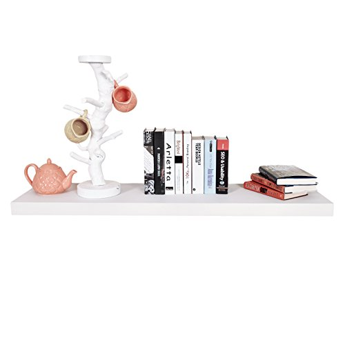 Review WELLAND Grande Floating Wall Shelf Display Floating Shelf (Approx 47-Inch, By WELLAND by WELLAND