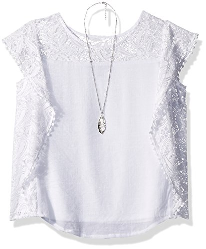 amy-byer-big-girls-lace-flutter-top-with-necklace-white-l