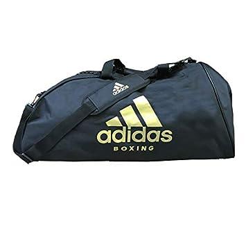 fd220778b9 adidas Sports Bag Shoulder Strap L Boxing Sac Mixte, Schwarz/Gold, 723434 cm