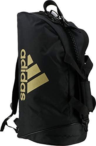 アディダス コンバットスポーツ 2in1 Bag adiACC052 Black/Gold 50L Black