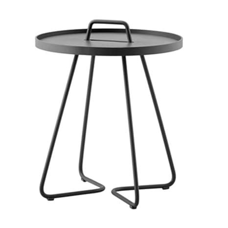 Amazon.com: NAN Liang Mesa de café con asa - Mesa pequeña ...