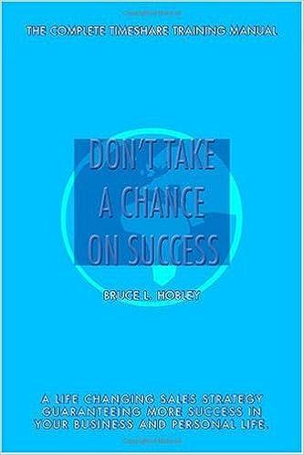 Download online Don't Take a Chance on Success PDF, azw (Kindle), ePub