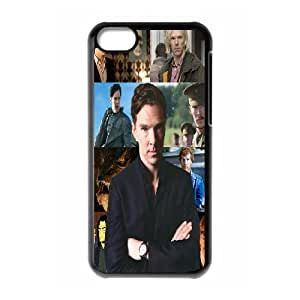Good Quality Phone Case With HD Sherlock Images On The Back , Perfectly Fit To iPhone 5C
