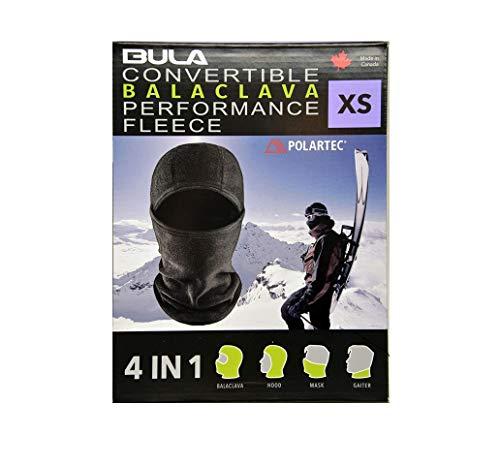 BULA Performance Fleece 4-in-1 Convertible Balaclava (X-Small)