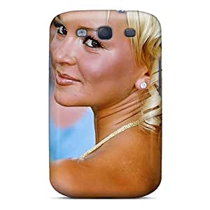 Protective Tpu Case With Fashion Design For Galaxy S3 (jennifer Ellison Glamour Model)