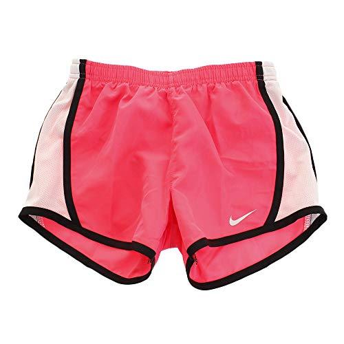 Running Women Shorts Dri Tempo Nike Fit (NIKE Girl`s Dry Tempo Running Shorts (Racer Pink(327358-A5W)/Black/White, 6))