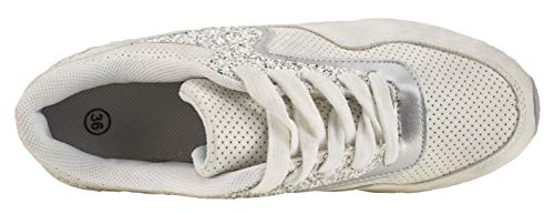 31 Elifano Ab Sneaker Blanc Donna Mitallic Footwear 8zvqwzP