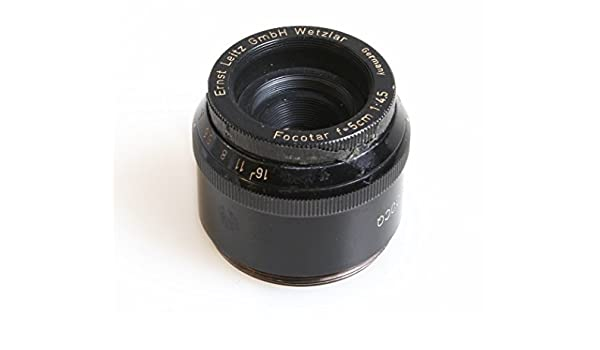 Leica LEITZ FOCOTAR 50MM F//4.5 ENLARGING Lens