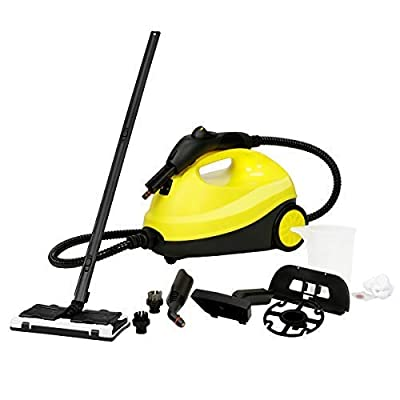 Bocca Multi-Purpose Steam Cleaner, Adjustable Heavy Duty Rolling Cleaning Machine for Carpets, Floor with 13 Accessories, 2000W, 2L Capacity