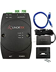 Linortek Netbell-2 TCP/IP Network Programmable Bell Timer Controller/2 Zones Remote Web-Based Bell Scheduling for School Factory Warehouse Lunch Break Bell System POE