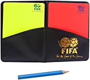 MiaoDuo New Sport Football Soccer Referee Wallet Notebook with Red Card and Yellow Card