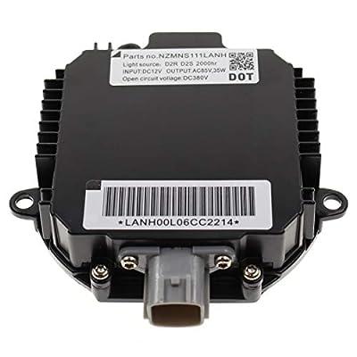 MOTOALL HID Xenon Headlight Ballast Control Unit Module for D2R D2S Bulb Nissan Infiniti Mazda Saab 28474-89904 28474-89907 28474-8991A 28474-89915 Matsushita NZMNS111LANA NZMNS111LBNA NZMNS111LANH: Automotive