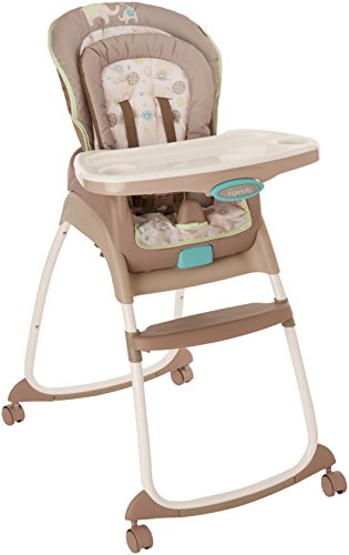 Ingenuity Trio 3-in-1 High Chair - Sahara Burst - High Chair, Toddler Chair, and - Grow High Chair Easy