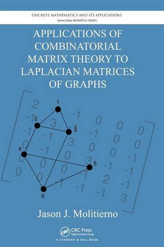 Applications Of Combinatorial Matrix Theory To Laplacian Matrices Of Graphs (Discrete Mathematics And Its Applications)