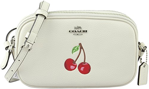 Zip Chalk Pouch Style F25847 Cherry Double Crossbody Coach Women's SV Multi 4gTq7