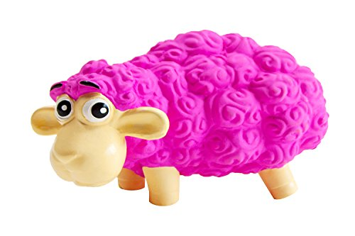 (Outward Hound Tootiez Sheep Soft Textured Grunting Dog Squeak Toy)