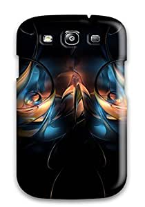 New Arrival Case Specially Design For Galaxy S3 (cgi Abstract Cgi)