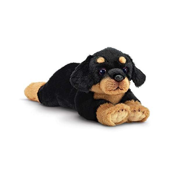 Bearington Gunner Rottweiler Plush Stuffed Animal Puppy Dog, 15 inches 1