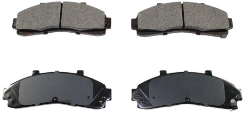 DuraGo BP652 C Front Ceramic Brake Pad (Pad Ceramic Front Brake Ranger)