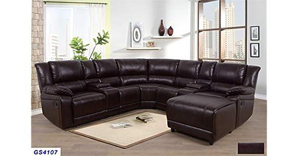 Amazon.com: Lifestyle Furniture - Juego de sofá reclinable ...