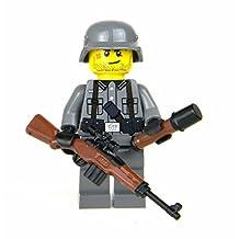 German G43 WW2 Soldier (SKU78)- Battle Brick Custom Minifigures