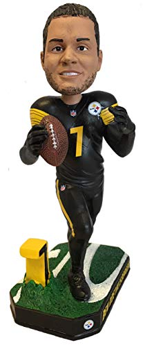 Forever Collectibles Ben Roethlisberger Pittsburgh Steelers Special Edition Color Rush Bobblehead NFL