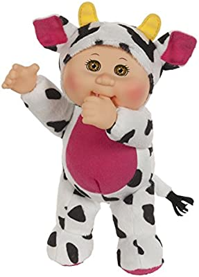 Amazon Com Cabbage Patch Kids Clara Cow Cutie Baby Doll 9 Toys