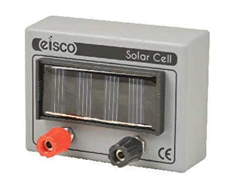 Solar Cell Unit with 4mm Terminals, Small - Great for Physics Projects and Experiments - Eisco Labs (Science Fair Projects For 6th Grade Electricity)