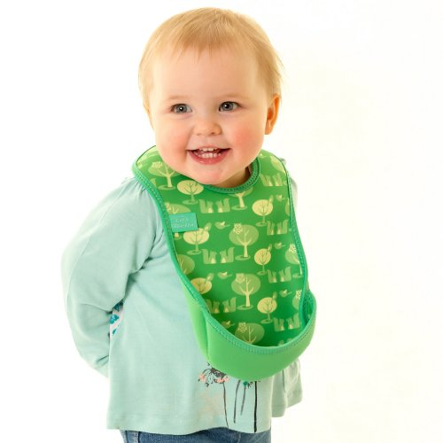 Bibetta Ultrabib Baby Bib (Green Owl) by BabyCenter (Image #7)
