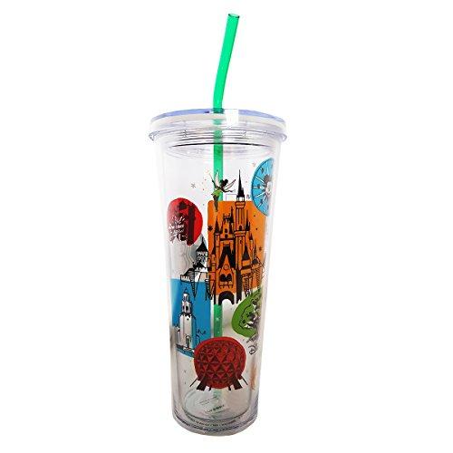 2017 Starbucks Disney Parks Cold Cup Tumbler Version 2 - Venti 24 Fl Oz