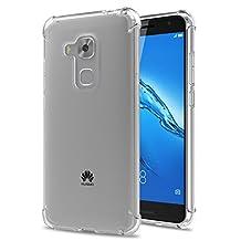 Huawei Nova Plus Case - MoKo Premium Shock Absorption Case Ultra Slim Thin Transparent Soft Flexible TPU Protective Bumper Back Cover for Huawei Nova Plus 5.5 Inch, Crystal Clear