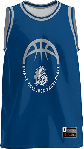 ProSphere Drake University Basketball Men's Basketball Jersey (Retro) 1002D