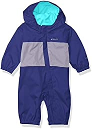 Columbia baby-boys Critter Jitters Rain Suit, Waterproof & Breathable, Fleece L