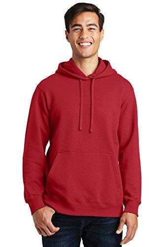 Port & Company Fan Favorite Fleece Pullover Hooded Sweatshirt. PC850H Team Cardinal M