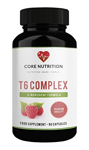 Powerful Keto Diet Pills – Vegan Fat Burner – Keto Pills for Weight Loss – Fat Burner – T6 Keto Complex – Raspberry…