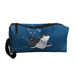 Bolsa de herramientas de almacenamiento para exteriores, lona de tiburón Anger, estuche con cremallera, bolso de mano