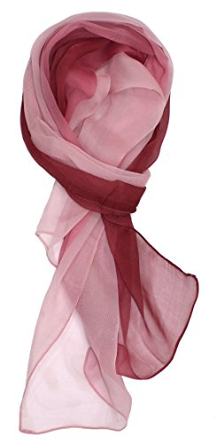 (Ted and Jack - Silk Ombre Lightweight Accent Scarf (Roses))