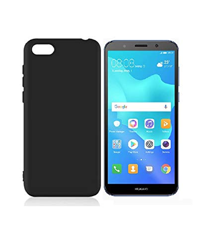 Sanguine Candy Soft Flexible Back Case for Huawei Y5 2018 (Black)