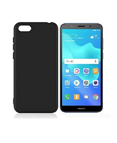 più recente 51804 14996 Sanguine Candy Soft Flexible Back Case for Huawei Y5 2018 (Black)