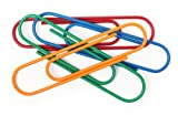 OOLY Clip It Max Oversized Paper Clips, Primary Colors, 8-Count (134-25)