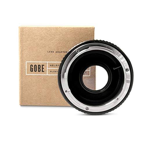 Gobe Lens Adapter: Compatible with Canon FD-Mount Lens and Nikon F-Mount Camera Body