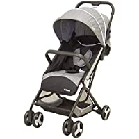 Carriola de Bebe Prinsel Flex Compacta Ligera Reclinable Gris