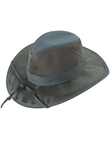 Supplex Breezer Brim Hat Pine Green w/Coolmax Moisture Wicking Sweatband LG